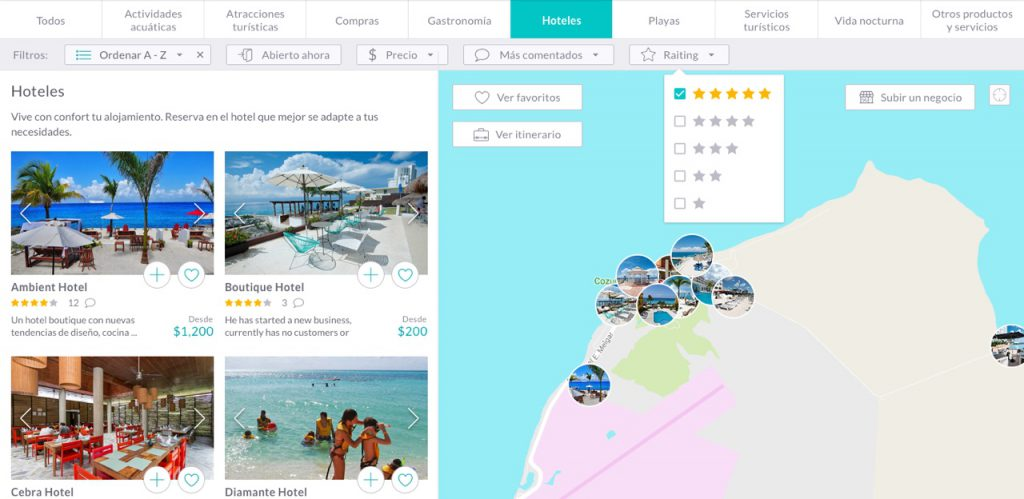 Hoteles de Cozumel Smart Island