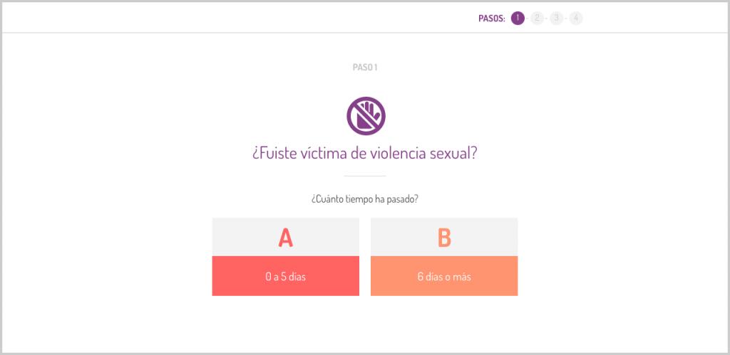 ¿Fuiste víctima de violencia sexual?. Tiempo Fuera. Ruta de acción en caso de violación.