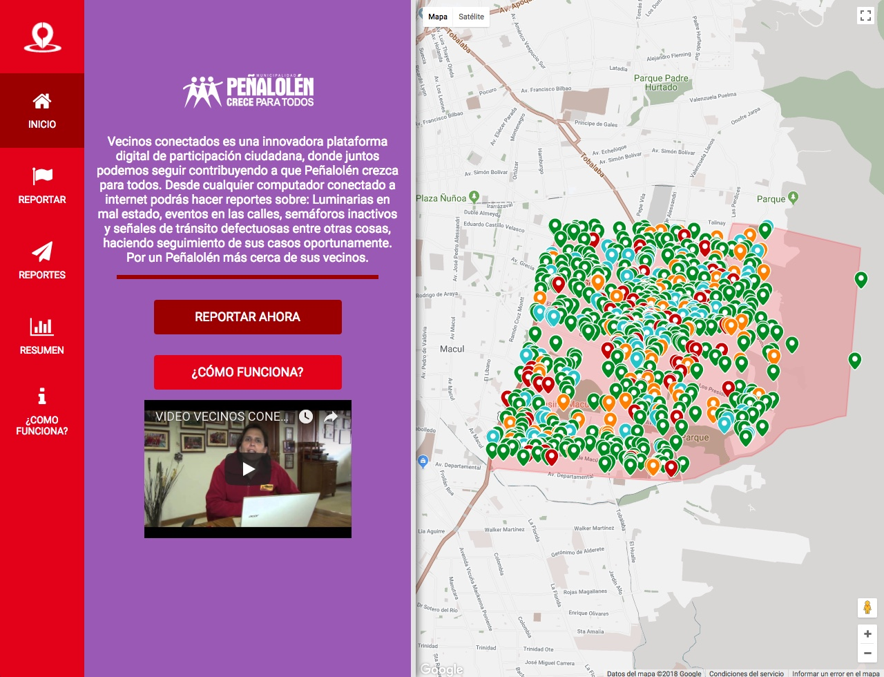 Peñalolén. Vecinos conectados