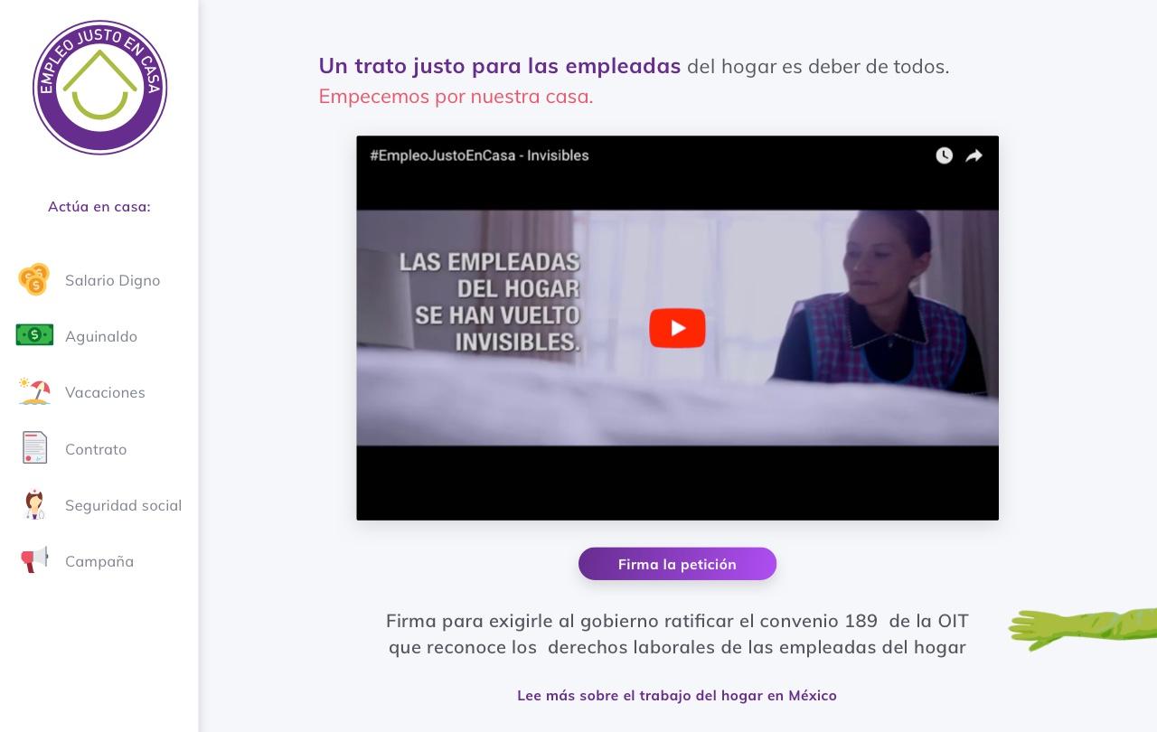 Cover Empleo Justo en Casa
